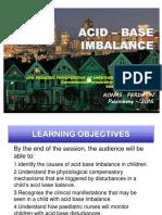Acid Base , AGDA, CPD Ped.-2016