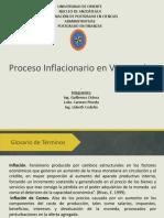 Proceso Inflacionario en Venezuela