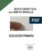 Propuesta Didáctica Braille Primaria