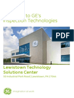 GE Lewistown Technology Solutions Center Welcome Packet