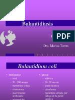 Balantidiasis
