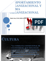 Cultura Organizacional, Clima Organizacional