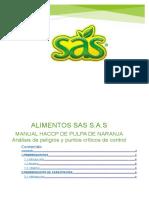 Final Manual Haccp Sas