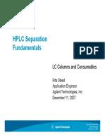 HPLC Separation Fundamentals