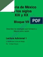 La Santificación Cívica de Hidalgo