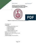 Diagnostico Organizacional e Intervenciones de Nutrybody