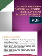Pedoman Manajemen Pengendalian Hepatitis, Diare, Dan tifoid