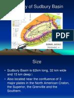 Geology of Sudbury Basin