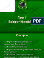 Ecologia y Microbiologia