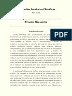 06 - Marx - Primeiro Manuscrito -Trabalho alienado.pdf