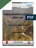 MINERALIZACIÓN AURÍFERA EN LA PROVINCIA DE.pdf