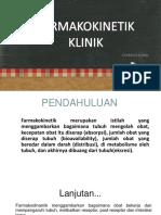 Faramakokinetika Klinik 1 Ppt