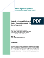 Analysis of Energy-Efficiency Opportunities for the Cement Industry in Shandong Province, China - Http _www.osti.Gov_scitech_servlets_purl_974445