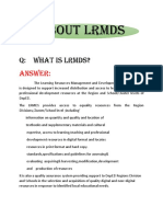 About Lrmds