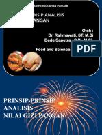 Prinsip Analisis Pangan