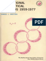 MAA  International Mathematical Olympiads, 1955-1977.pdf