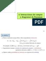 Interacción y Campos Diagramas de Feynman