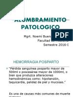 ALUMBRAMIENTO PATOLOGICO 2016.ppt