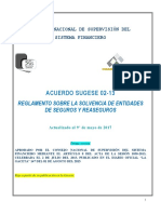 SUGESE 02-13 Reg Solvencia Ent Seguros