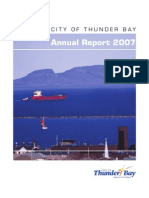 Thunder Bay Annual Report