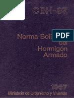 Norma Boliviana del Hormigón Armado 1987.pdf