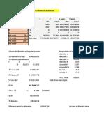 Calculo Diametro y Altura