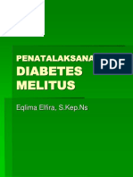 Penatalaksanaan Diabetes Melitus