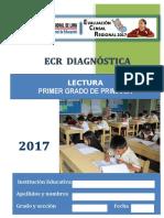 Prueba Ecr Diagnostica Lectura 1ro Primaria