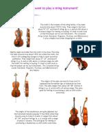 strings document
