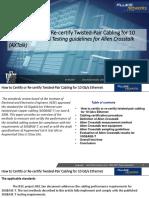 Certifying 10 Gig SV White Paper