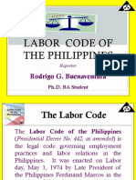 Report on Labor Code of the Philippines