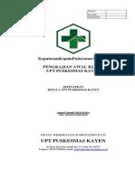 7.2.1.1 SK & SPO Pengkajian Awal Klinis ( Fix)