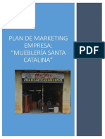 Plan de Marketing Muebleria Santa Catalina