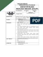 Protap - Identifikasi Rekam Medik (KIUP).doc