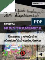 """Revista nuestrAmérica n° 7, volumen 4 """"Feminismos y miradas de la colonialidad desde nuestra América"""""""