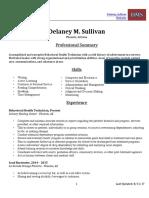 lesson 3 resume