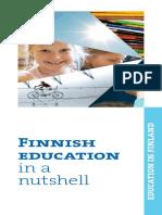 146428 Finnish Education in a Nutshell