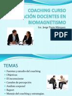 Coaching Curso Capacitación Docentes en Biomagnetismo Jtm 2014
