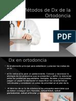 Métodos de Diagnostico  de Ortodoncia