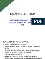 Tugas Mk Geoteknik 2017(2)