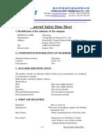 MSDS Polyamine - Bluwat Chemicals