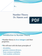 NumberTheory-Today 29-10-2016
