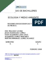 Regiones Biogeograficas