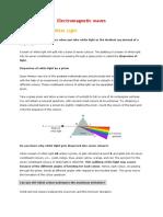 Electromagnetic Waves & Spectrum