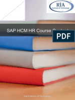 SAP HCM HR