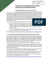 Peran Akuntansi Bagi Perkembangan Ekonomi Sektor Pemerintahan & Swasta