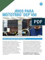 Acessorios Serie Dep 450 Mototrbo