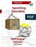 Importing Geodata Tutorial