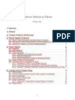 Chu, Analytical Methods in Physics