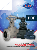 Catalogue - Gate Globe Valve FORGED - Alfa Valves